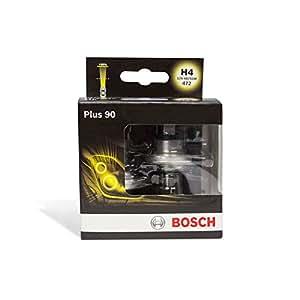 bosch plus 90 bombilla h4 2 unidades coche y moto. Black Bedroom Furniture Sets. Home Design Ideas