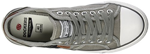 Dockers by Gerli Herren 42jz002-790430 Sneaker Grau (Taupe 430)