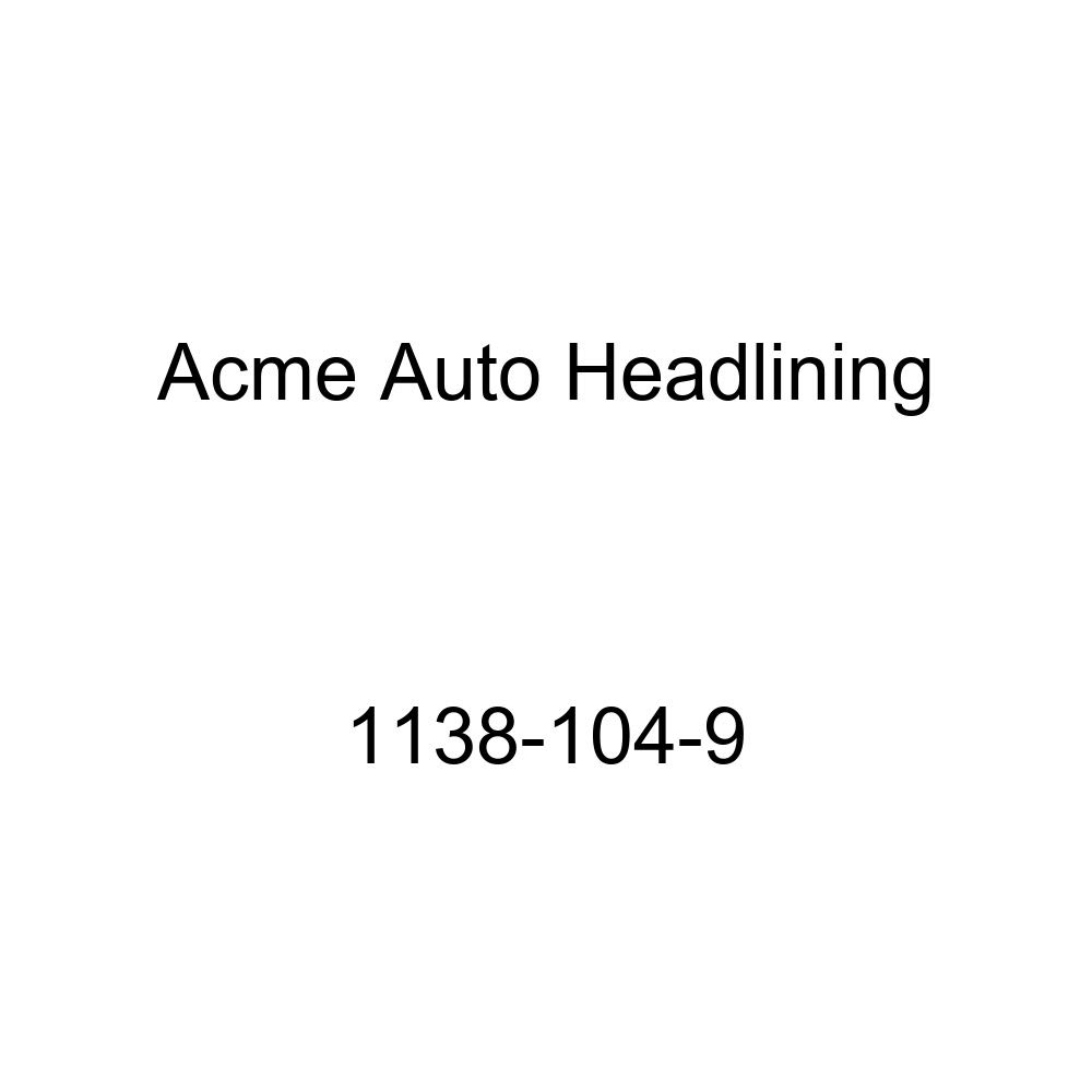 Acme Auto Headlining 1138-104-9 Dark Green Replacement Headliner 51-52 Buick Special, Super /& 50-51 Cadillac 61 /& 51 Olds 98 8 Bows