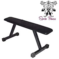 Sporto Fitness Weight Lifting Flat Bench
