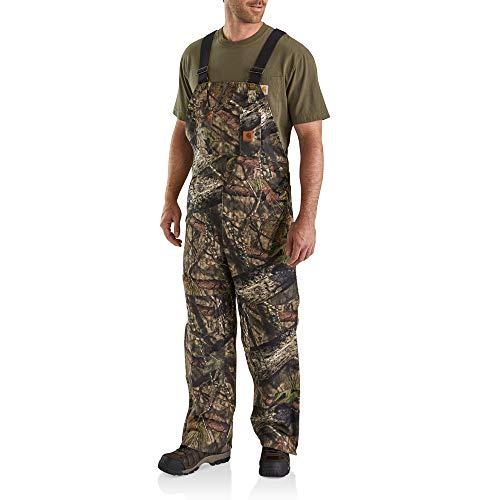 (Carhartt Men's Quilt Lined Camo Bib Overalls, Mossy Oak Break up Country, X-Large/Short)