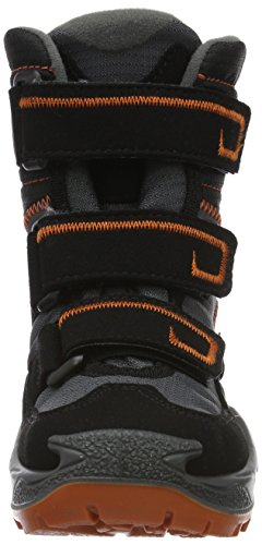 GTX Black Milo High Hi Rise Kids' Orange Schwarz black Unisex Lowa Boots Orange Hiking TawqzHtE