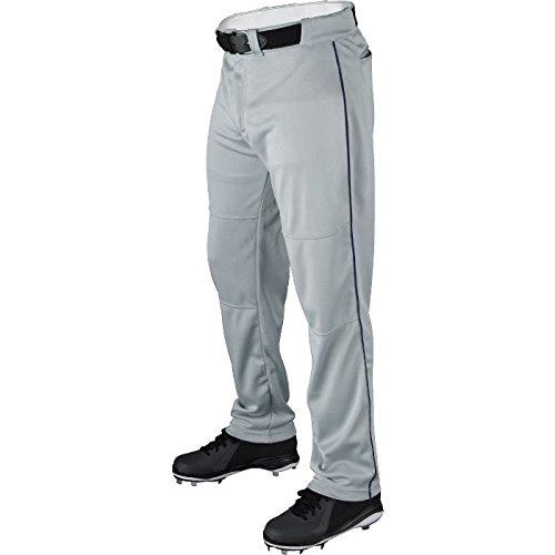 Wilson Adult Classic Piped Polyester Warp Knit Baseball Pant (Polyester Knit Adult Warp)