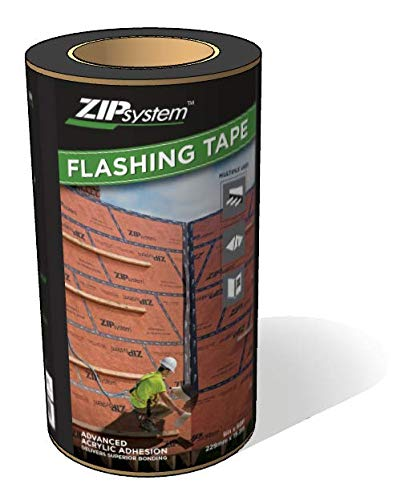 - Huber Zip System Flashing Tape | Self-Adhesive Flashing for Structural Panels, Doors-Windows Rough Openings | 9 inch x 50 feet