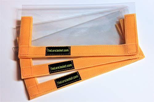 The Lure Jacket 3-Pack Angler Size (Orange) - 8