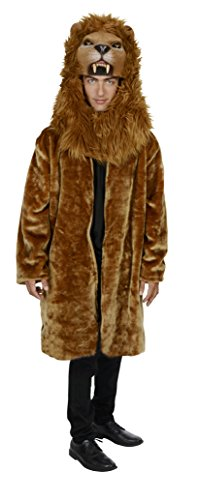 [Magik Costumes Deluxe Lion Coat] (Bear Head Costume Amazon)