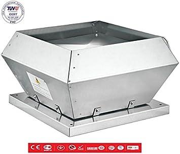 Techo Ventilador claraboya 850 m³/h aspiración techo Ventilador ...