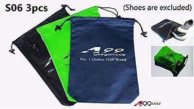 "3pcs S06 A99 Golf Shoes Bag Storange bag Non-Woven Fabric Tote 17"" x 12 1/8"""