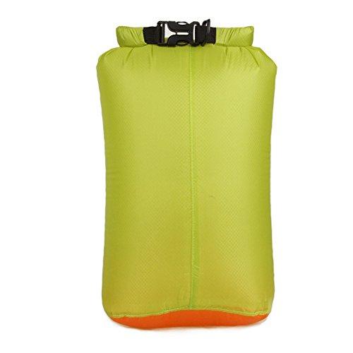 HSL ultra - lightwatertight Tasche geh0ren lagerung Tasche fur reisen, kajak fahren, schwimmen, grune, l