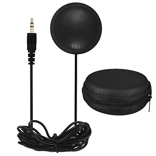 Boundary Omnidirectional Condenser Microphone Stereo Desktop Mic Surface Mounted Mic for Teleconferencing Meetings