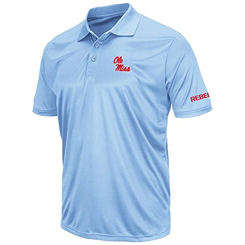 Ole Miss Polo Shirts (Mens Ole Miss Rebels Short Sleeve Polo Shirt - L)