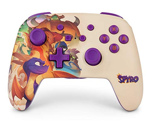 PowerA Enhanced Wireless Controller for Nintendo Switch - Spyro 1
