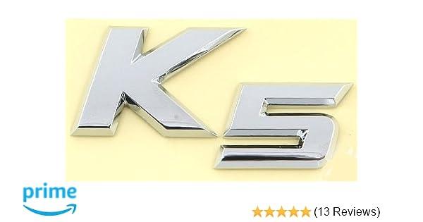 2011 KIA Optima K5 OEM GENUINE K5 Emblem Rear Trunk 863102T000