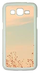 Samsung Galaxy Grand 2 Case - Antelope Island Utah PC Hard Case Cover For Samsung Galaxy Grand 2 / Samsung Galaxy 7106 - White