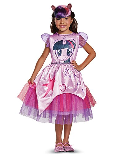 Twilight Sparkle Movie Classic Costume, Purple, Medium (7-8) -