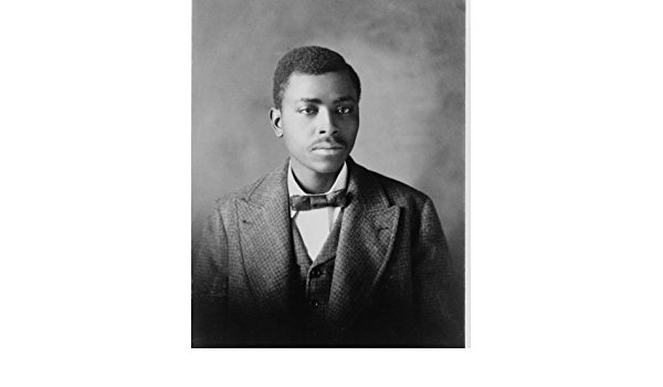 Vintage Photo reprint African American Black Man Holds Picture of white Woman