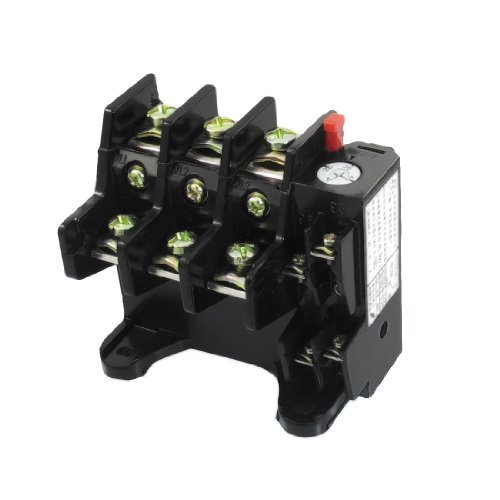 Water & Wood JR36-63 45Amp 28A-45A Adjustable 3 Pole Thermal Overload Relay 1NO 1NC