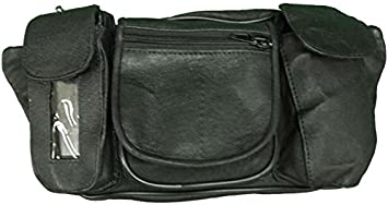 Vance Leather Magnetic Tank Bag//Fanny Pack with Five Pockets