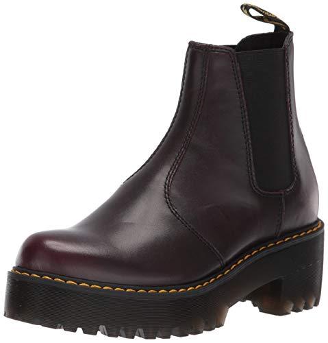 Dr. Martens Women's Rometty Chelsea Boot Burgundy 4 M UK (6 US)