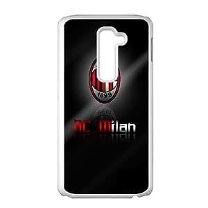 LG G2 Cell Phone Case White AC Milan Football CRR Phone Case Hard Durable