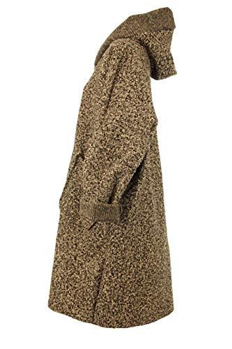 Italy Manica Grigio Lunga Trench Fashion Cappotto Chiaro Donna wtqYrt