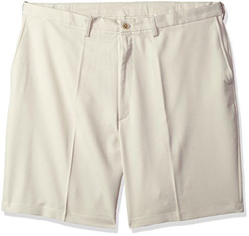 - Haggar Men's Big and Tall Cool 18 Pro Classic Fit Stretch Flat Front Short, String, 56