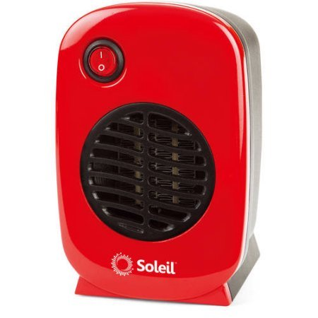 Soleil Personal Electric Ceramic Heater, 250 Watt MH-01 (Red) by Unknown (Image #4)