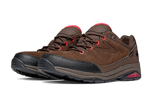 New Balance Men's MW1300 Walking Shoe, Size: 12 Width: 2E Color: Brown/Red
