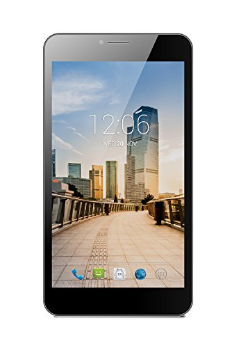 """Ritzy Equal S700a - 7.0"""", 4G, Android 4.4 Kit Kat, Dual-core, 4GB, 5MP Camera, Dual Sim Tablet, Voice Calling Enabled (Black)"""