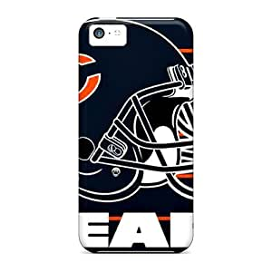New Snap-on Charming YaYa Skin Case Cover Compatible With Iphone 5c- Chicago Bears