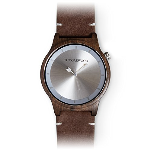 The Garwood Wood Watch – Leather Band –