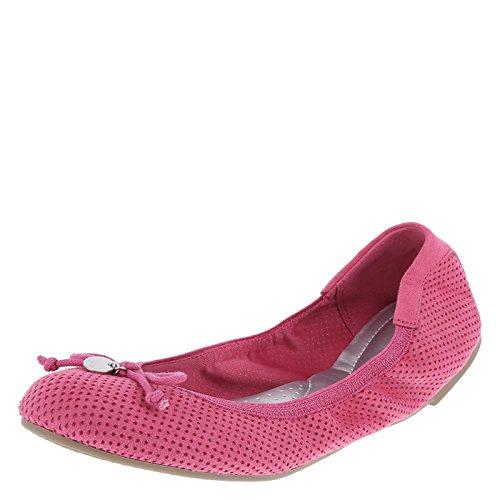 dexflex Comfort Watermelon Perforated Women's Caroline String Tie Flat 8 Regular