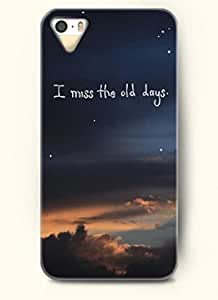 I miss the old days-iPhone 5/5s/5g Back Plastic Case