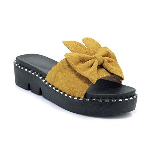 Clear Platform Sweet Shoes - Women's Sweet Rabbit Ears Shoes Slide Sandals Thick Bottom Flats Wedges Non-Slip Platform for Summer