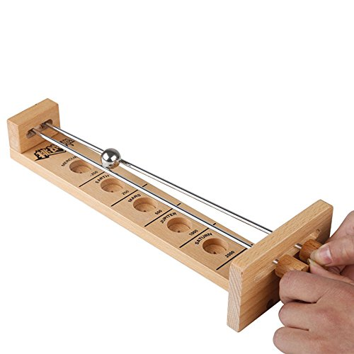 Shoot The Moon game, Classic Desktop Games Wooden Hockey Play for Adult Children's Educational Toys