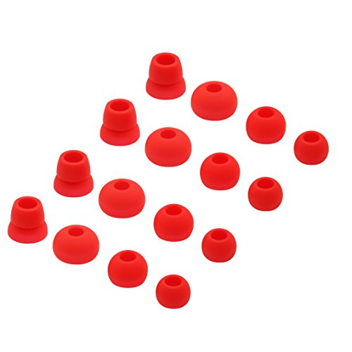 16pcs Replacement Ear Tips Ear Buds Ear Gels for Beats by dr