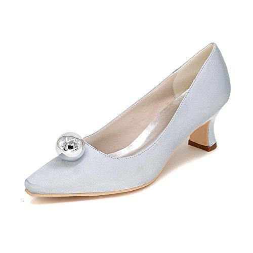 Con Confortevoli 01f Di Le yc Taglia Varietà 0723 Ad Colori Da Su Silver Sposa Grande L Misura Altezze Scarpe Donna ZwB0q0IW