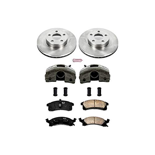 Power Stop KCOE3156 Autospecialty 1-Click OE Replacement Brake Kit with Calipers