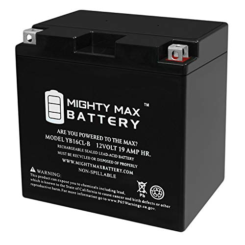 Mighty Max Battery YB16CL-B Jet SKi ATV Polaris Yamaha Kawasaki Sea Doo Bombardier Brand Product ()