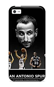 UMUMKdD629uJEoe Case Cover Protector For Iphone 5c San Antonio Spurs Basketball Nba (24) Case