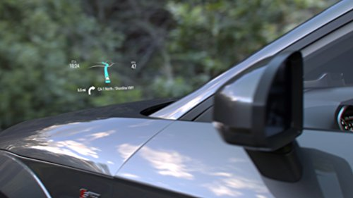 Navdy Augmented Reality – Stay Connected and Safer Driving w/ Texts, Emails, Music, Calls & Maps Projected Through Your Windshield – GPS Navigation w/ Heads Up Display