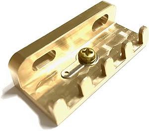 Amazon _ ブラス製 ファットタイプ トレモロクロー スプリングハンガー Adjustable CTSC-2 _ エレキギター・ブリッジ・サドル・アーム _ 楽器
