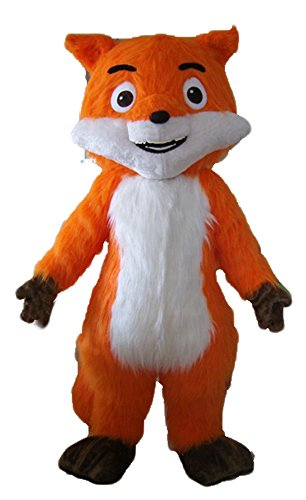Fox Mascot Costume Adult Animal Mascots for Advertising