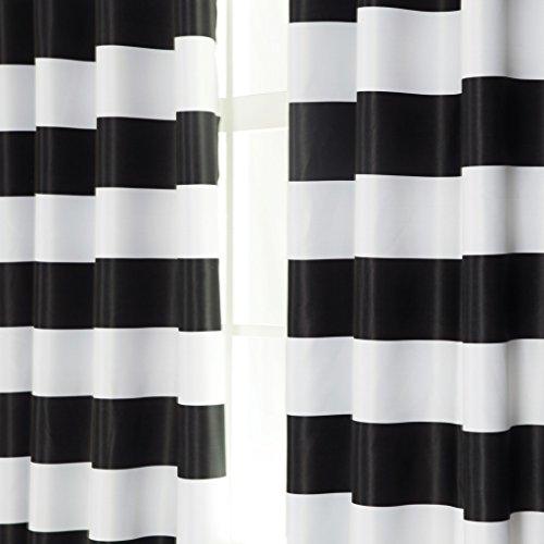 Turquoize Nautical Blackout Curtains 2 Panels Room Darkning Grommet Top Light Blocking
