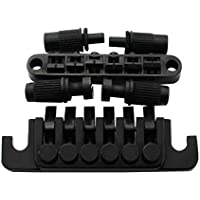 Guyker Guitar Tune-O-Matic Bridge and Stop Bar Lock TP6 Tailpiece Combo with Posts for LP SG Style 6 Strings Electric…