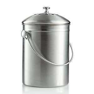 Compost bin, cocina Compost Bin Compost cubo 1gallon