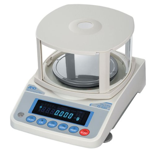 Image of Toploading Balances A&D Weighing FZ-300i Internal Calibration Toploading Balance, 320g, 115V