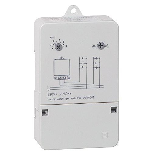 Treppenlicht-Zeitschalter Rex600Plus, 230 V, 50/60 Hz, extrem leise ...