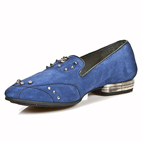 New Rock ,  Pantofole uomo Blu blu