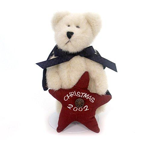 Boyds Bears Plush DAWN ANGELSTAR Fabric Dated 2002 Ornament Teddy Bear 562406.